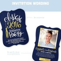Graduation Invitation Wording Guide For 2018