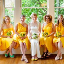 Convertible Bridesmaids Dresses Bridal Party Style Inspiration