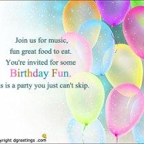 Good Birthday Invitations Good With Good Birthday Invitations