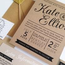 Paper For Wedding Invitations Quality Kraft Paper Wedding