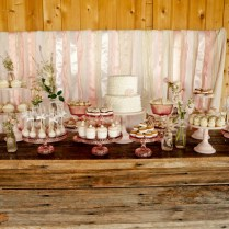 Vintage Pink & Shabby Chic Dessert Table – Jenny Cookies