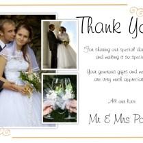 Unique Diy Wedding Thank You Card Ideas – Weddings By Helen