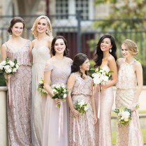 2018 Vintage Glamour Wedding Theme Bridesmaids Dress Ideas