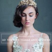 20 Vintage Wedding Tiaras And Crowns