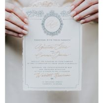 A Timeless Wedding Invitation Suite For The Timeless Bride This