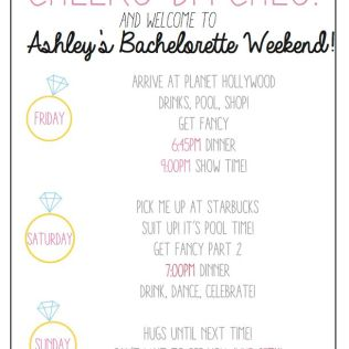 Cheers Bitches! Use This Custom, Printable Bachelorette Party