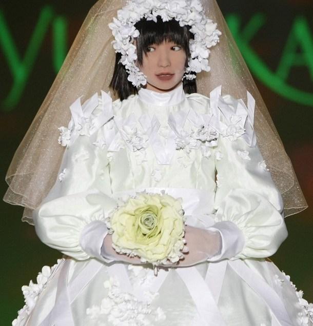 Designer Wedding Dress For Japanese Robots
