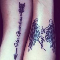 55 Lovely Couple Tattoo Ideas To Show Their Love To The World