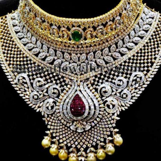 Tremendous Bridal Diamond Choker