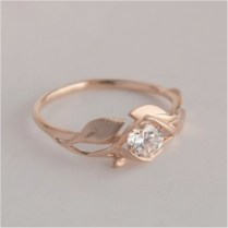 93 Simple Vintage Style Engagement Rings Wedding Gold Princess Cut