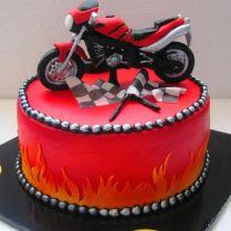 Decorating Design Idea Motorcycle Cake