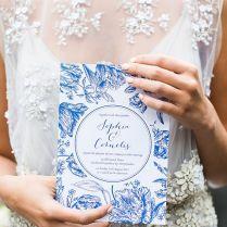 Lavish Wedding Ideas In Delft Blue
