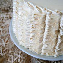 Vertical Vintage Ruffles