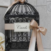 Birdcage For Wedding Cards