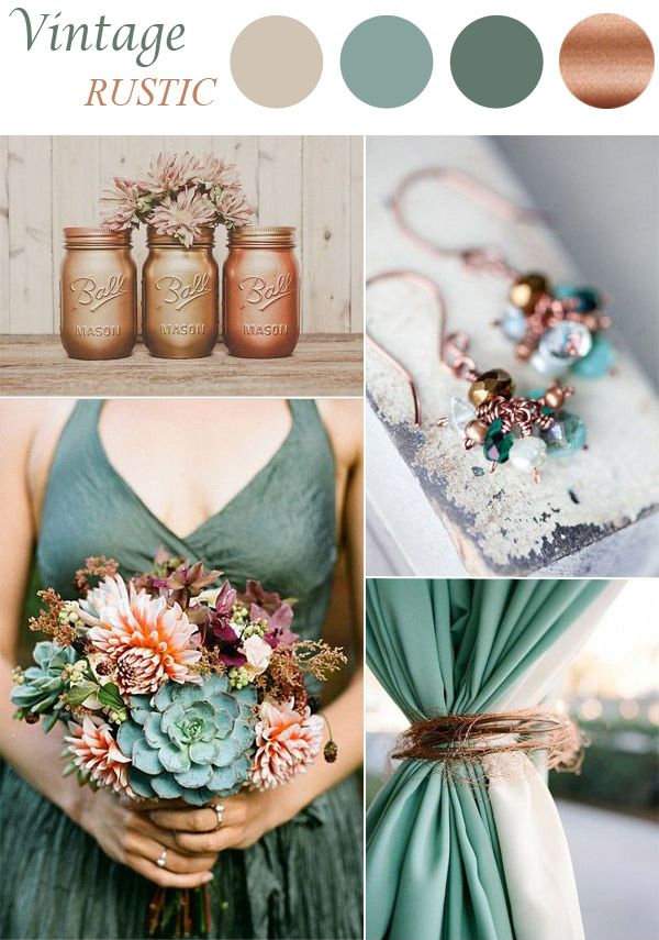 987081e2ba Top 8 Trends For 2015 Vintage Wedding Ideas. Top 10 Pantone Wedding Colors  For Fall 2015