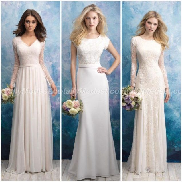 Beautiful Modest Wedding Dresses Are Now At Our Store Boulevard