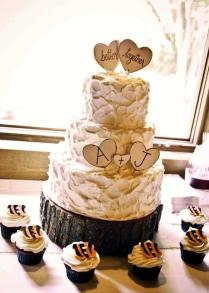 Custom Cupcake & Cake Toppers Better Together Wedding Decorations
