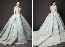 29 Colourful Wedding Dresses That Will Brighten Up Your Big Day