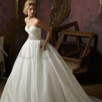 Love This! Just Not So Poofy! Luxe Taffeta Ball Gown Strapless