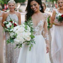 Elizabeth Haggerty ♥ Hayley Paige Wedding Dress
