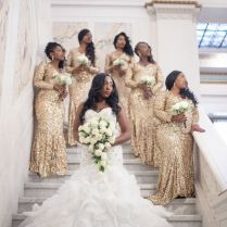 Real {maryland} Wedding Niquetta & Obarine By Lola Snaps