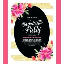 Fun Party Invitation Wording Funny Invitations Cute Girl Squad