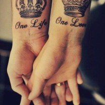 31 Best Matching Tattoos For Couples, Cool Love Design Ideas