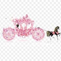 Wedding Invitation Carriage Cinderella Clip Art