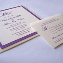 Lavish Square Wedding Invitation