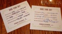 M Wedding Invitation Wedding Invitation Response Card M Our Diy