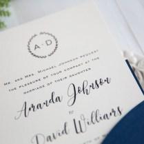 Monogram Wedding Invitations Monogram Wedding Invitations A Beauty