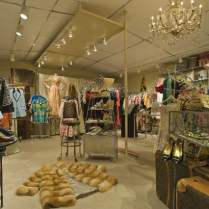 Our Glamorous Vintage Clothing Boutique Interior