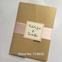 Rustic Pocket Invitations Vertical Pocketfold Wedding Invitations
