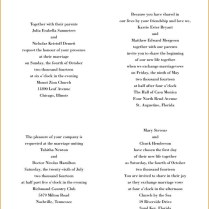 Best Of Spanish English Wedding Invitations