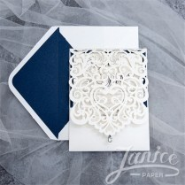 Wholesale Laser Cut Wedding Invites