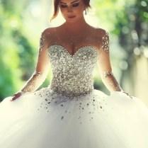 Sweetheart Empire Waist Ball Gown Wedding Dress,princess Wedding