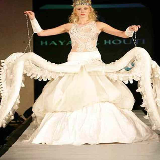 19 Strange And Outrageous Wedding Dresses