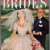 Spring 1958 The Bride's Magazine Vintage Fashion Dresses