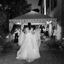 Hayley Paige Decklyn Dress ( Without Stripes) 6661 Wedding Dress