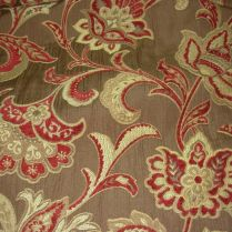 23 3 8 Yds Trend Brandywine Floral Embroidered Upholstery Fabric