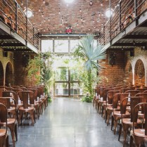 Modern New York City Wedding At The Foundry Lauren Ben