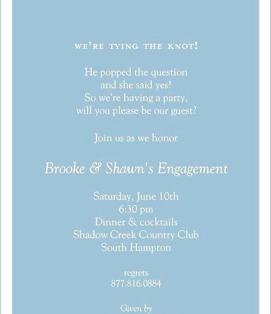 Nice Wedding Engagement Invitation Wording Wedding Ideas With Idea