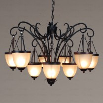 Black Wrought Iron Chandeliers For Every Home – Designinyou