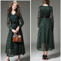 Dark Green Mother Of The Bride Dresses Full Lace Wedding Guest