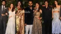 Virat, Anushka's Wedding Reception Bollywood Stars Up The Glamour