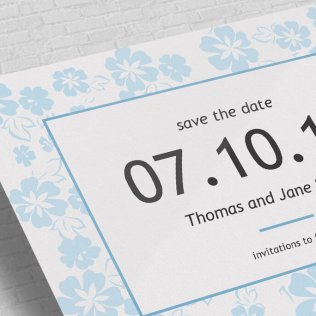Design Your Own Save The Date Custom Save The Date Cards Printed