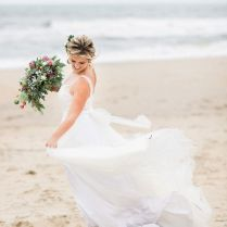 Chic Boho Virginia Beach Wedding Aisle Society, Boho Beach Wedding