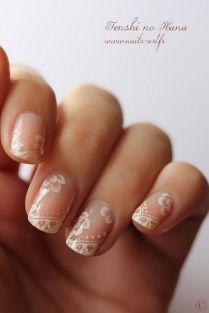Bridal Nail Designs ♥ Wedding Nail Art