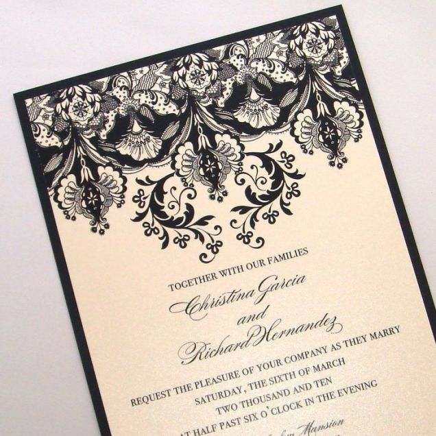 Fancy Wedding Invitations Fancy Wedding Invitations As A Result Of