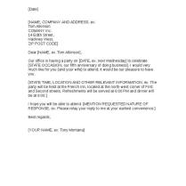 Formal Invitation Letter Sample Business Filename – Platte Sunga Zette